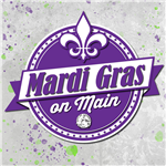 Mardi Gras 2019 Logo with Back