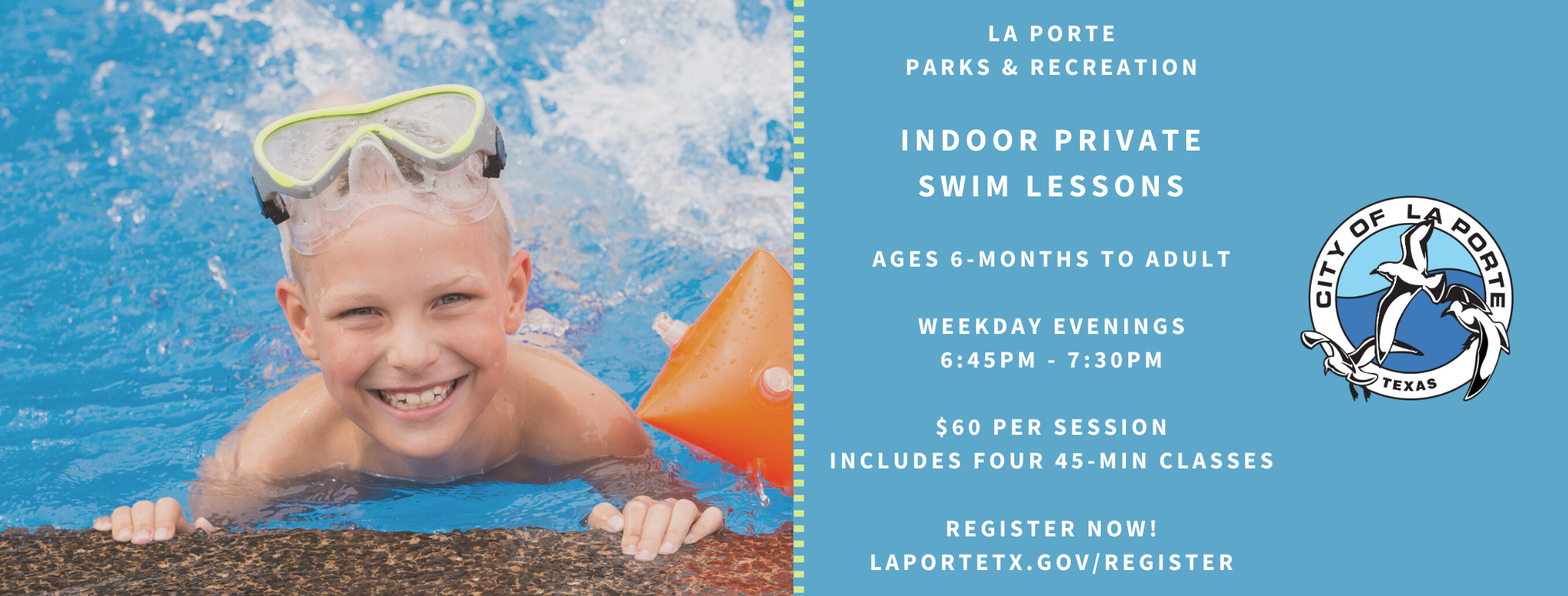 Indoor Private Swim Lessons Web Cover