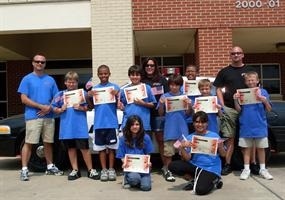 Summer D.A.R.E. Camp Graduation